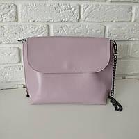 """Женская кожаная сумка """"Патрисия  Pink"""", фото 1"""
