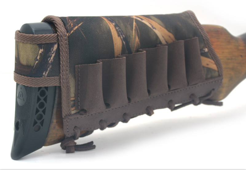Чехол на приклад 6 патронов Премиум+Ретро 8105