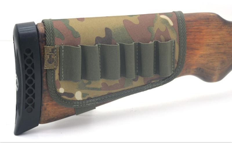 Чехол на приклад на 6 патронов камуфляж на поролоне цвет 3 5088