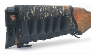 Чехол на приклад 6 патронов Премиум+Ретро 8104