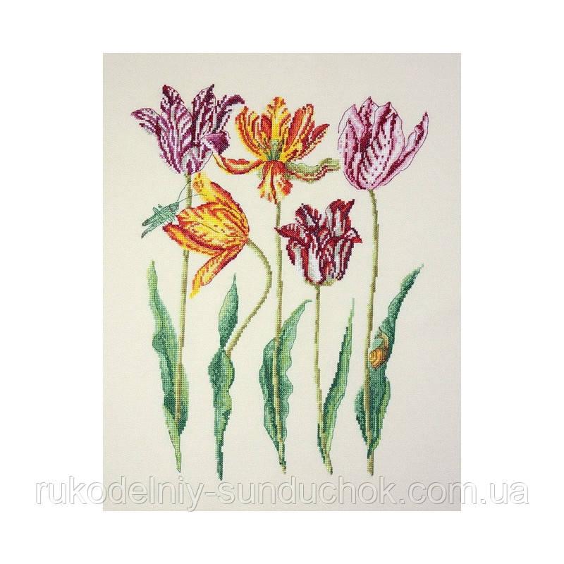 Набор для вышивания крестом ТМ Марья Искусница 04.003.10 Голландские тюльпаны