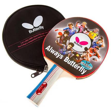 Ракетка Batterfly 4* TBC-401 для настольного тенниса, фото 2