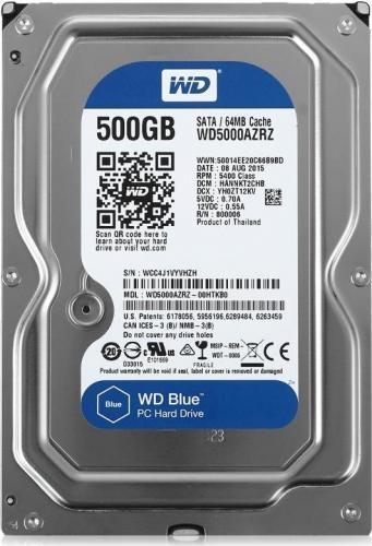 HDD Western Digital Blue 500GB WD5000AZRZ 3.5 SATA III
