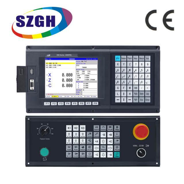 Комплект для модернизации токарного станка 16К20, 16Б16 на базе ЧПУ SZGH CNC1000TDb-2 и приводов ELL