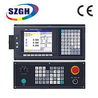 Комплект для модернизации токарного станка 16К20, 16Б16 на базе ЧПУ SZGH CNC1000TDb-2 и приводов ELL, фото 1