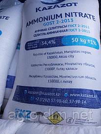 Аміачна селітра  34,4 %