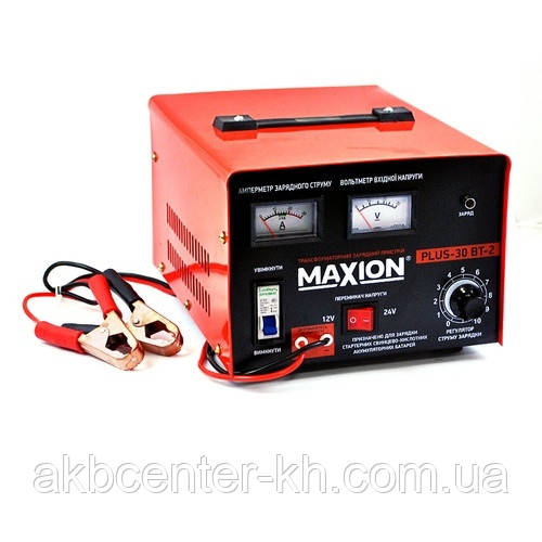 Трансформаторное зарядное устройство MAXION PLUS-30ВТ-2