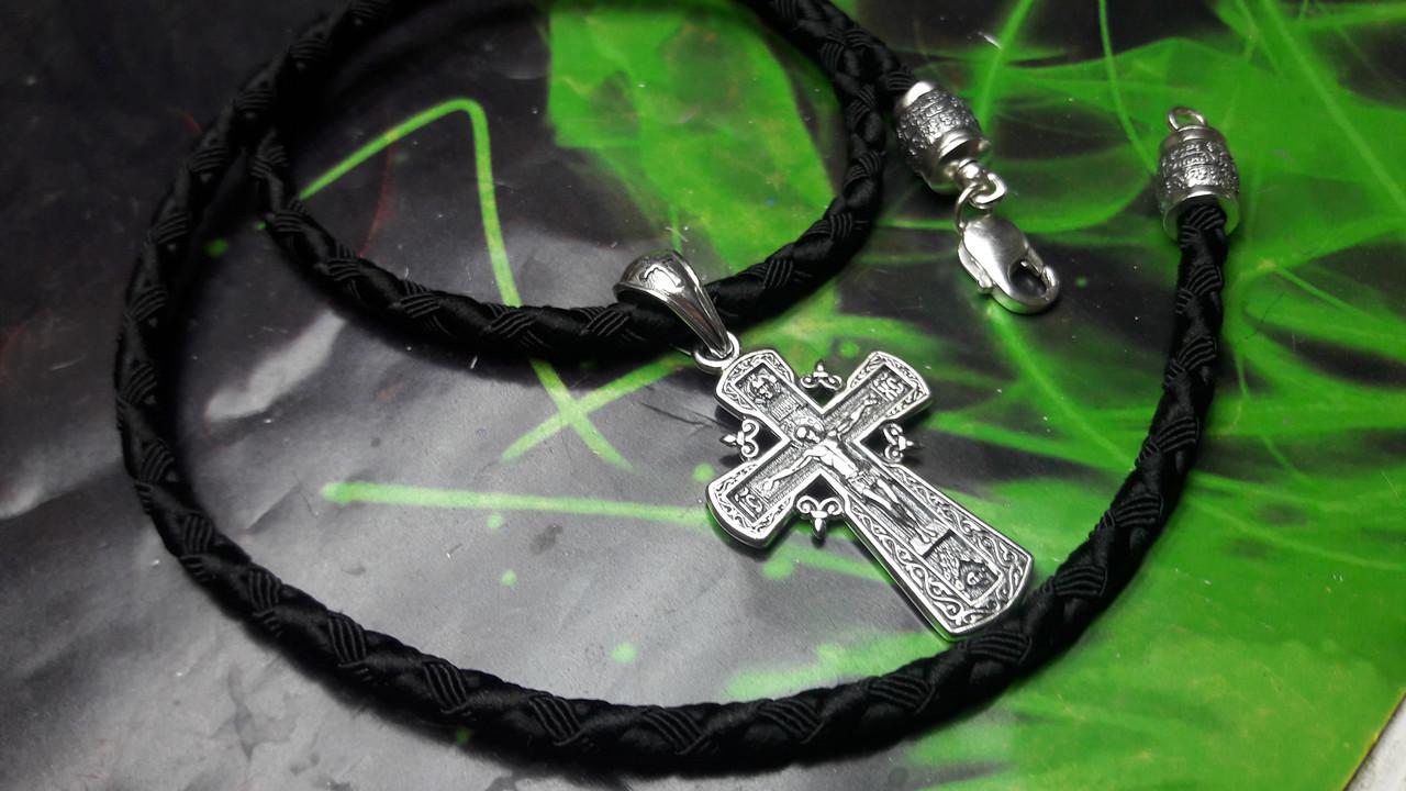 Шелковый шнур с крестом