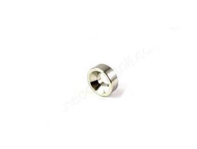Магнит-кольцо с зенковкой D10-d7/3,5хh3 мм - N, Намагниченность N42