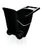 Тачка садовая Prosperplast LOAD & GO II, 85л, черный (5905197979656)