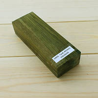Накладки стабилизированная древесина Граб RESINOL, 142х50х33