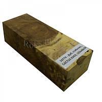 Стабилизированная древесина брусок Дуб CACTUS JUICE 123х46х34