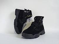 Ботинки Bashili из эко замши высшего качества, маломерят на размер, в двух цветах.