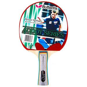 РакеткаBatterfly WernerSchlager TBC302-830A для настольного тенниса
