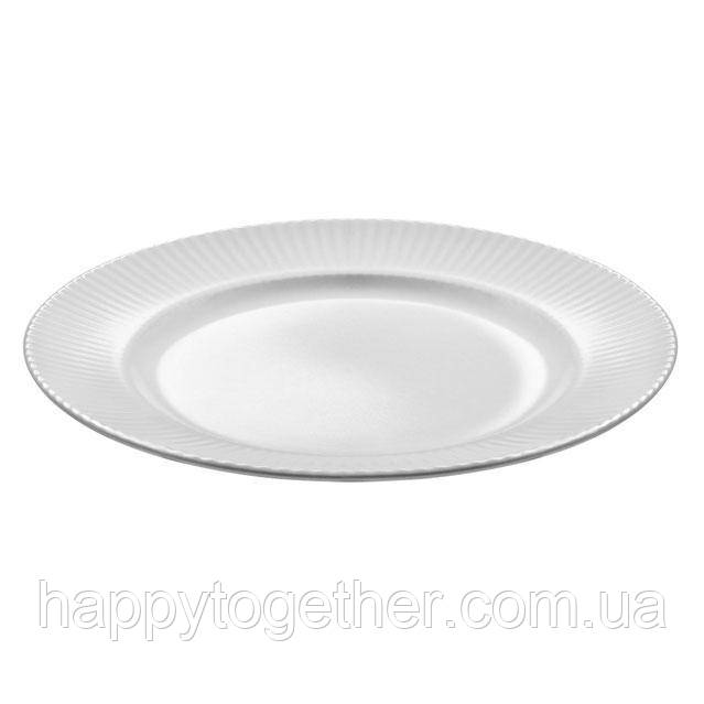 """Тарелка Ipec """"Atena White"""" обеденная 27 см"""