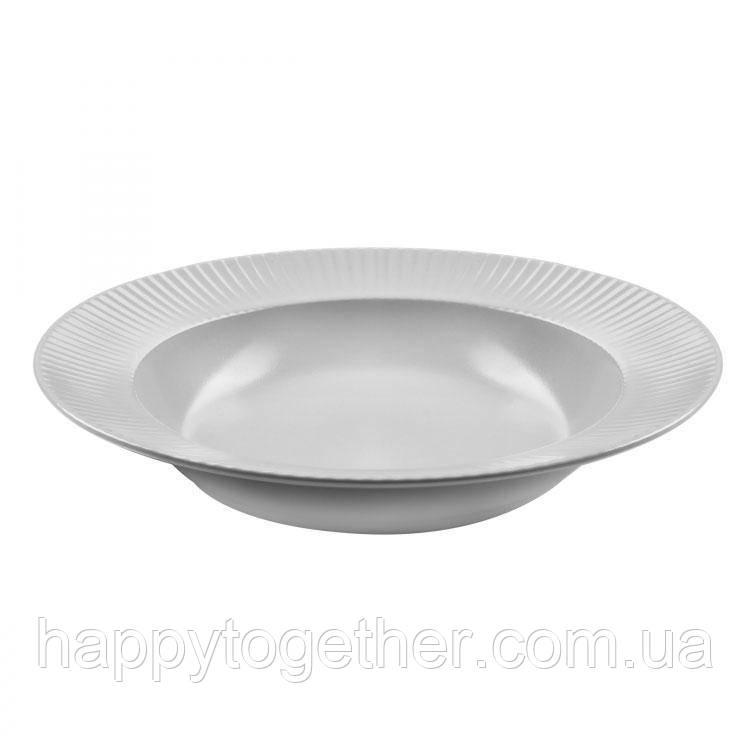 """Тарелка Ipec """"Atena White"""" суповая 23 см"""
