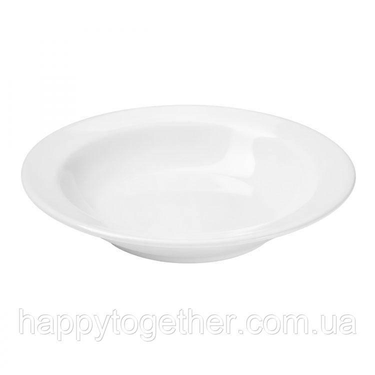 """Тарелка Ipec """"Bari White"""" суповая 21 см"""