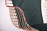Кресло Ibis (Ибис), rose gold, emerald, Бесплатная доставка, фото 6
