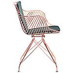 Кресло Ibis (Ибис), rose gold, emerald, Бесплатная доставка, фото 3