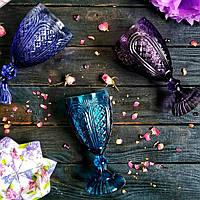 Набор бокалов DS  Violet Fish для вина 300 мл 6 шт