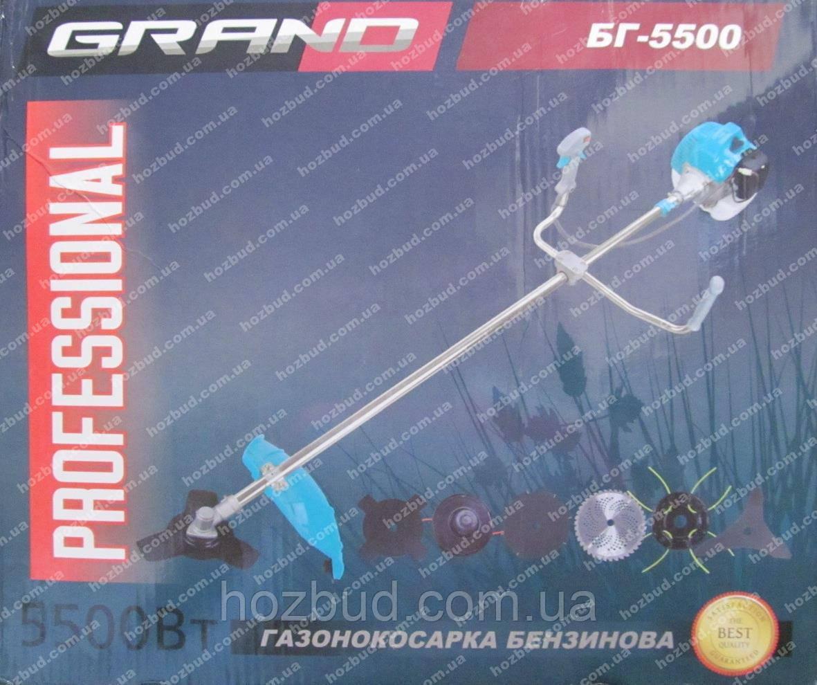 Бензокоса GRAND БГ-5500 (7 насадок)