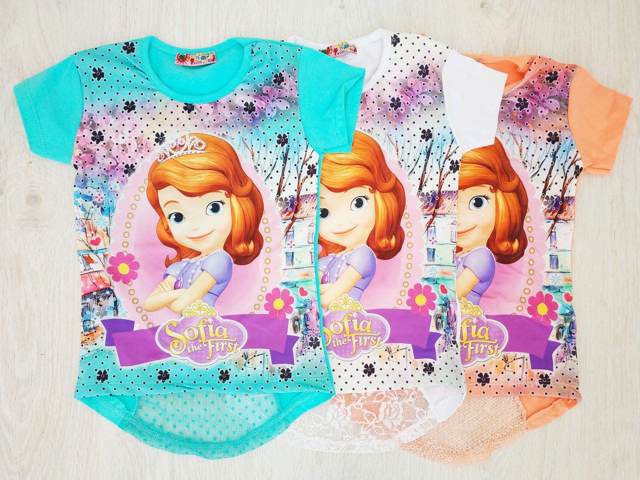 Туника-футболка для девочки, Турция, Babexi, арт. 3816