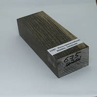 Стабилизированная древесина брусок Ясень  прямослойный,  RESINOL, 130х45х35