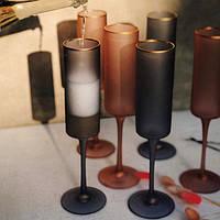 Набор бокалов DS Lady Pink для шампанского 250 мл 4 шт
