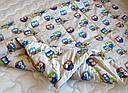 Одеяло конопляное демисезонное Совушки, фото 6