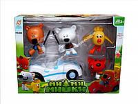 """Набор фигурок"""" Ми ми мишки"""", 4 фигурки+ машинка, в коробке  866"""