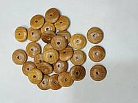 Бусины-разделители, деревянные, 15мм (100шт)
