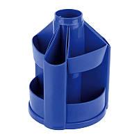 Подставка-органайзер Delta D3003-02, 11 отделений, 103х135 мм, синяя (мал)