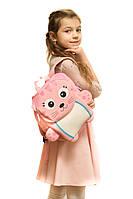 Рюкзак дошкольный TOCHANG Котенок розовый водонепроницаемый ультралегкий система AIR MAX для девочек 3-7 лет