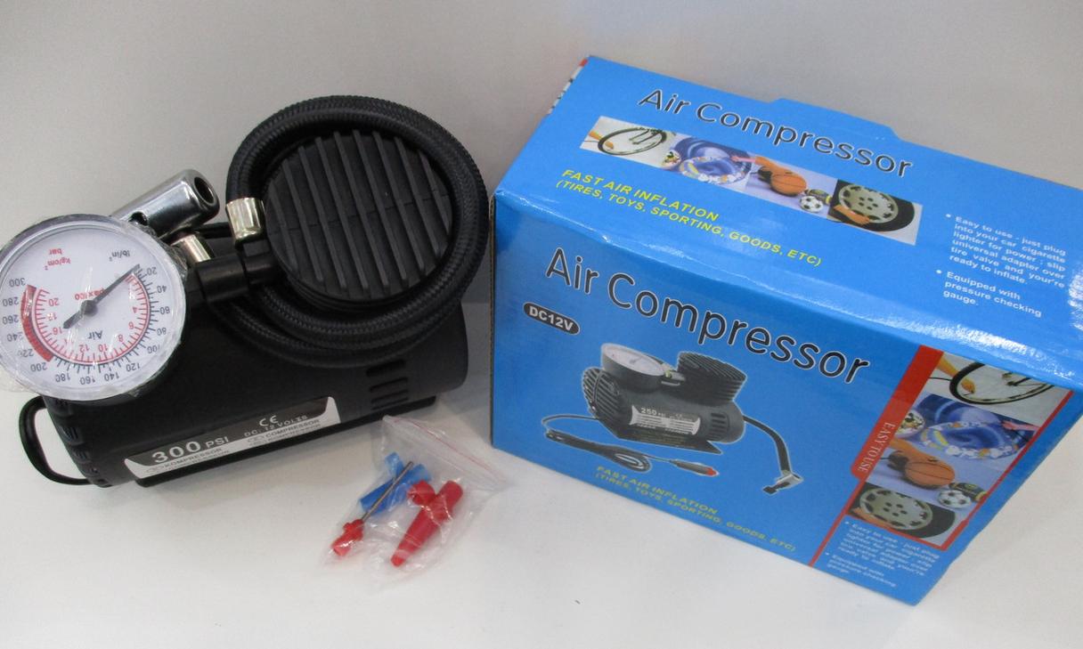 Автомобільний компресор 250psi/10-12amp/25л