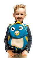 Рюкзак дошкольный TOCHANG Пингвин синий водонепроницаемый ультралегкий ремень безопасности система AIR MAX  для мальчиков 3-7 лет