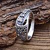 Серебряное кольцо Марьяна вставка белые фианиты вес 2.7 г размер 16, фото 3