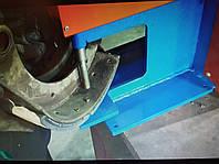Заклёпочник пневматический для клёпки тормозных накладок (колодок)