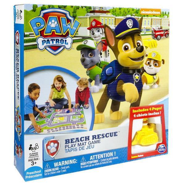 Spin Master настольная игра «Щенячий патруль: спасательная операция на пляже»
