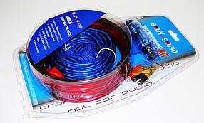 Набор проводов для усилителя, сабвуфера 800W AMK 8