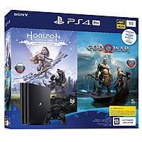 Игровая консоль SONY PlayStation 4 Pro 1TB (God of War & Horizon Zero Dawn CE) (9994602)