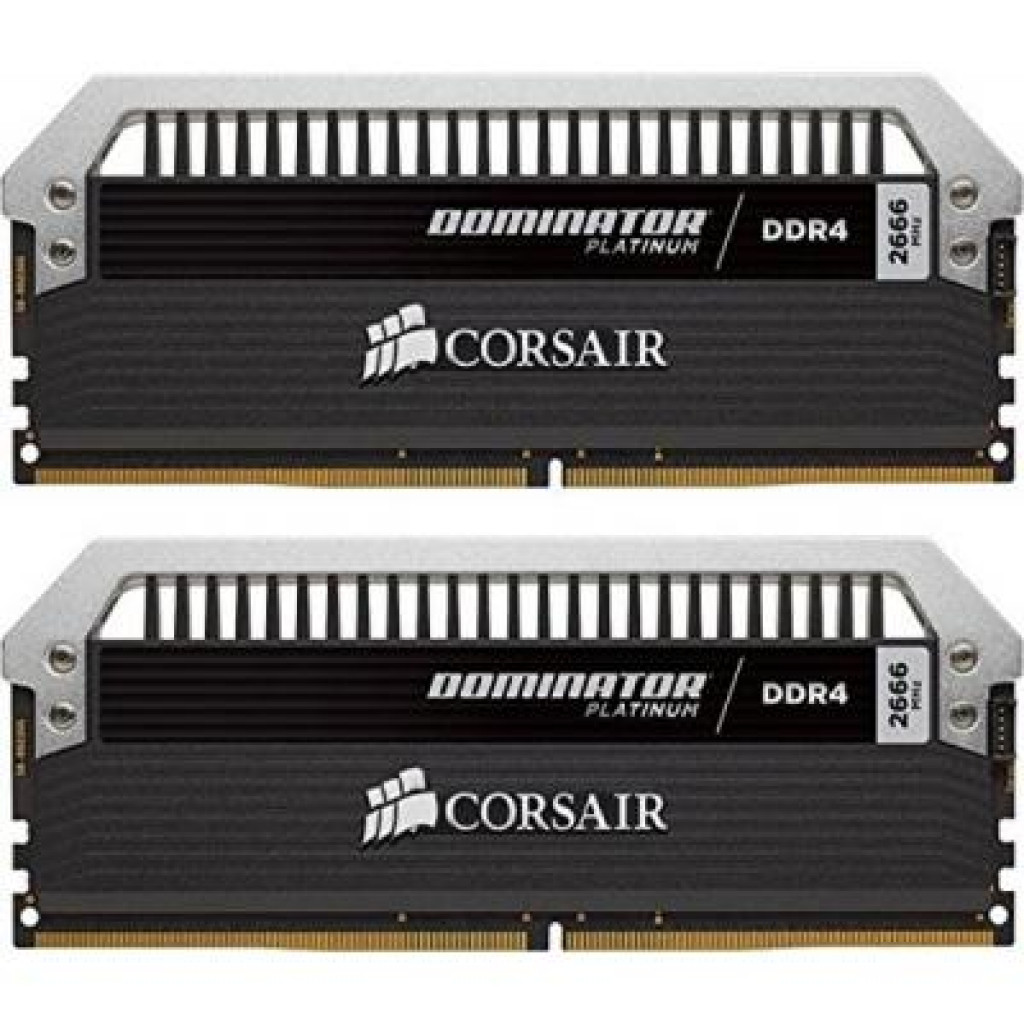Модуль памяти для компьютера DDR4 16GB (2x8GB) 3000 MHz Dominator Platinum CORSAIR (CMD16GX4M2B3000C15)