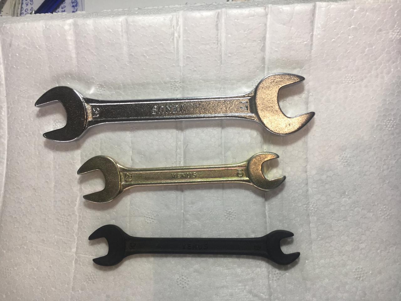Ключ гаечный Рожковый 19*22 мм (Фосфатированные)