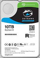 Накопитель HDD SATA 10.0TB Seagate SkyHawk Al Surveillance 256MB (ST10000VE0008)