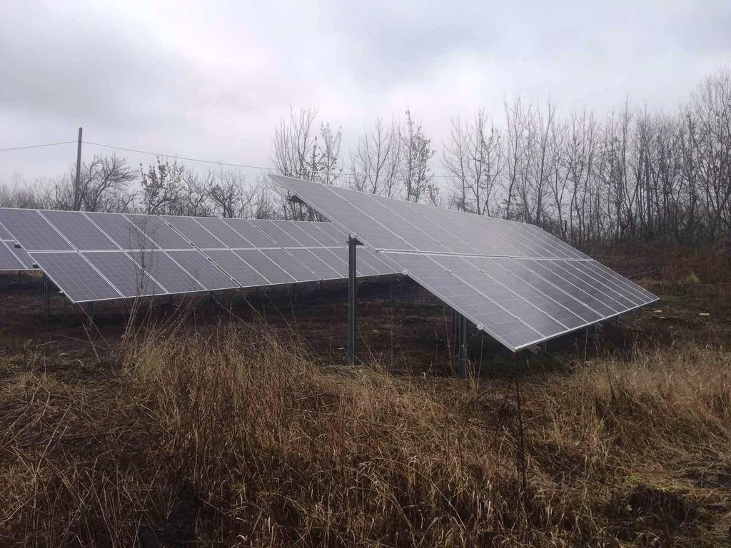 """Безіменне-2 сонячні електростанції під """"зелений"""" тариф потужністю 12,2 кВт Leapton + Huawei Київська область"""
