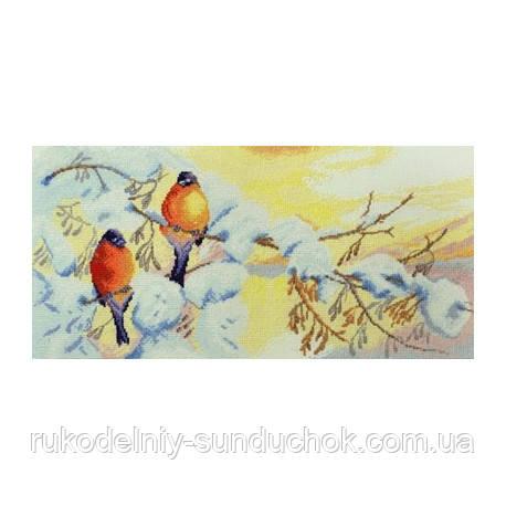 Набор для вышивания крестом ТМ Марья Искусница 03.011.04 Зимнее чудо