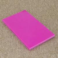 Накладки Микарта  № 92061 розовая 6,2х80х130 мм