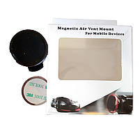 Магнитный Автомобильный Держатель для телефона Magnetic Air Vent (Black), фото 6