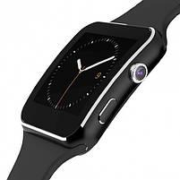 Розумні годинник Smart Watch X6 (Black), фото 4