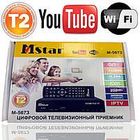 Цифровий ТВ тюнер Т2 Mstar M-5673 з Wi-Fi, USB, YouTube, фото 5