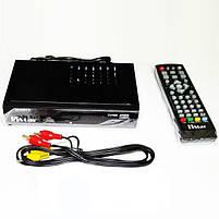 Цифровий ТВ тюнер Т2 Mstar M-5673 з Wi-Fi, USB, YouTube, фото 3